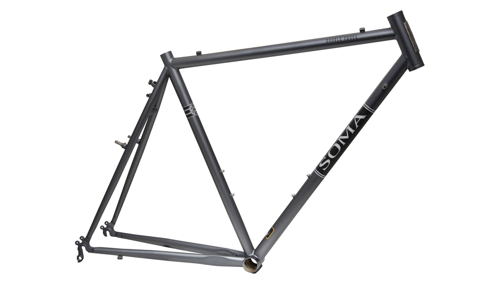 a great do all frame ready for cyclo cross trail riding commuting and some loaded touring we make it in a wide range of sizes to fit you right