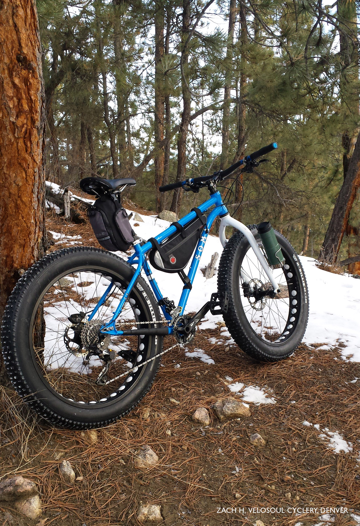 Belt Drive Bike >> Sandworm ( 26″/ 27.5″ Fat Bike ) | SOMA Fabrications