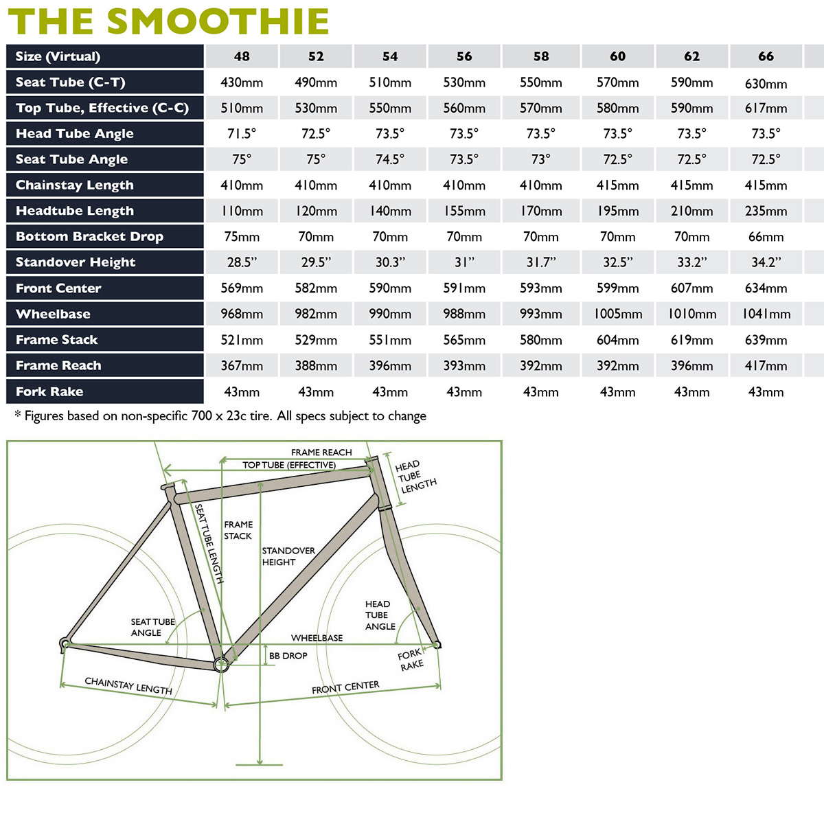 Smoothie (Performance Road) | SOMA Fabrications