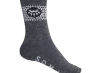Soma Woolverine Cycling Socks, gravel gray