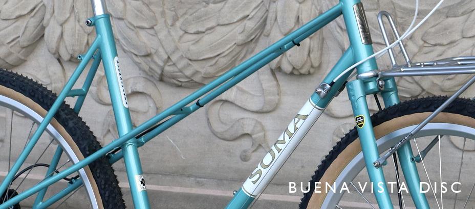 Soma Buena Vista Disc teal metallic build
