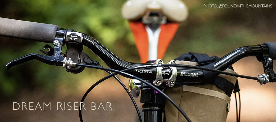 Dream Riser Bar, Black front view
